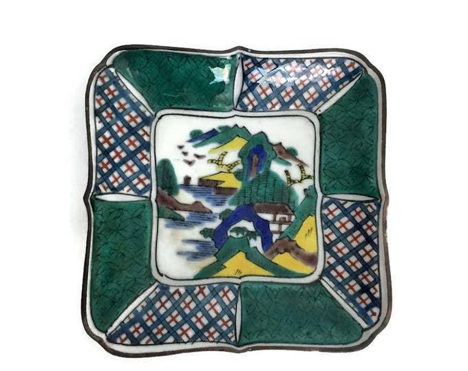 Vintage Kutani Dish