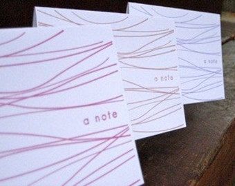Waves Blank Note Cards-Pack of 6