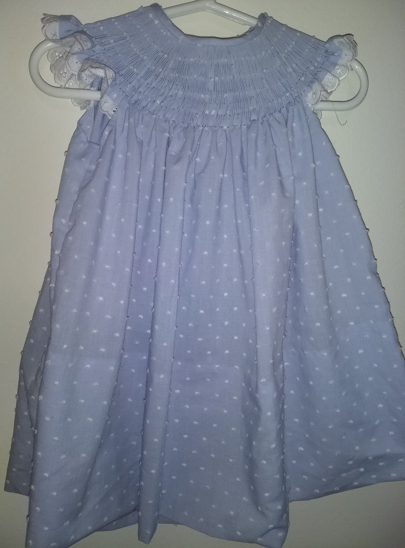 Clothing, Shoes & Accessories Girls New Size 5 Ready To Smock Bishop Dress