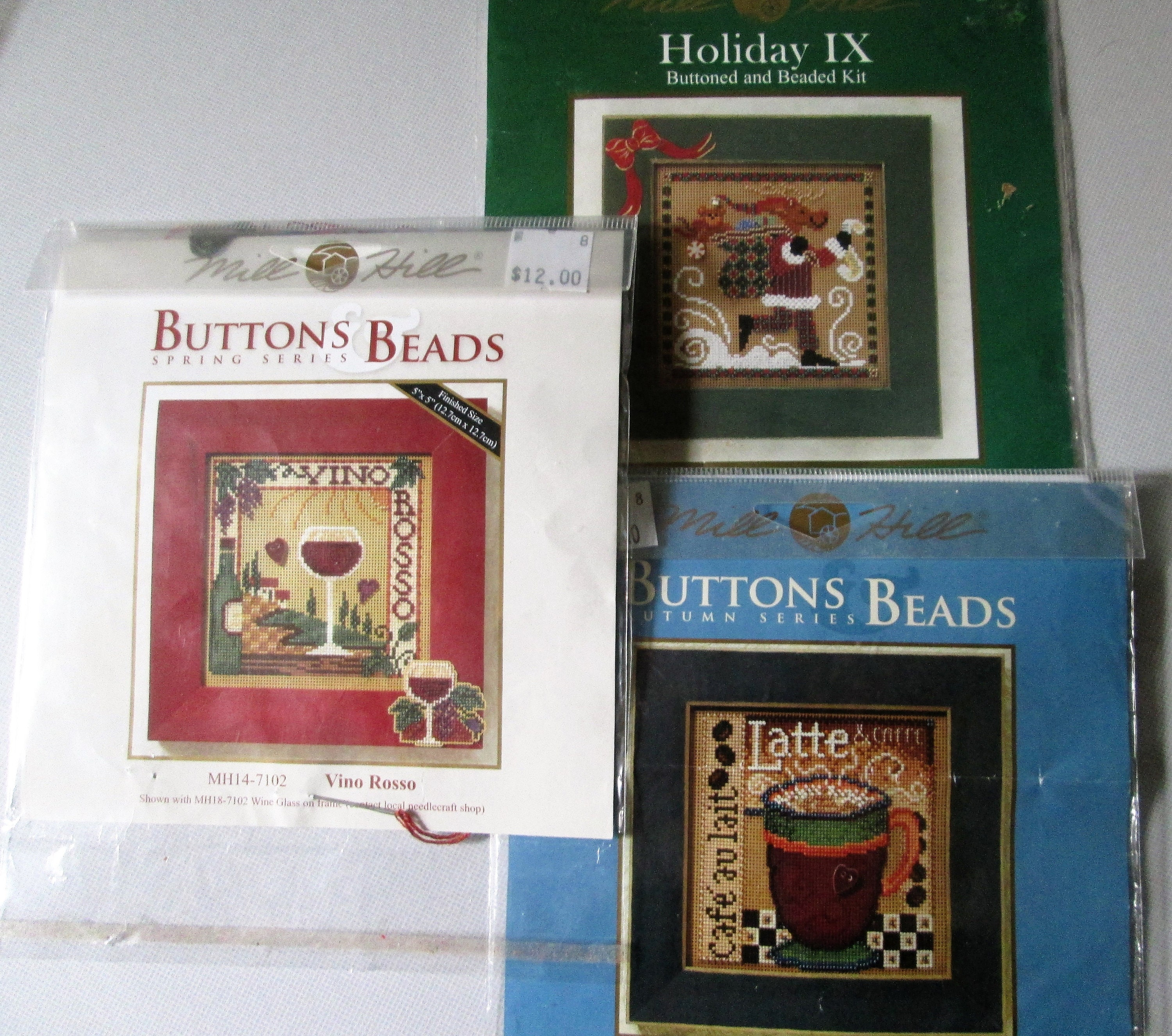 Pansy Beaded Cross Stitch Kit Mill Hill 2009 Buttons /& Beads Spring
