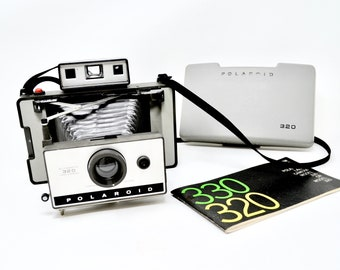Not Tested Early Polaroid Camera Instruction Booklets Polaroid 320 Land Camera Vintage Camera Photography Instant Photography