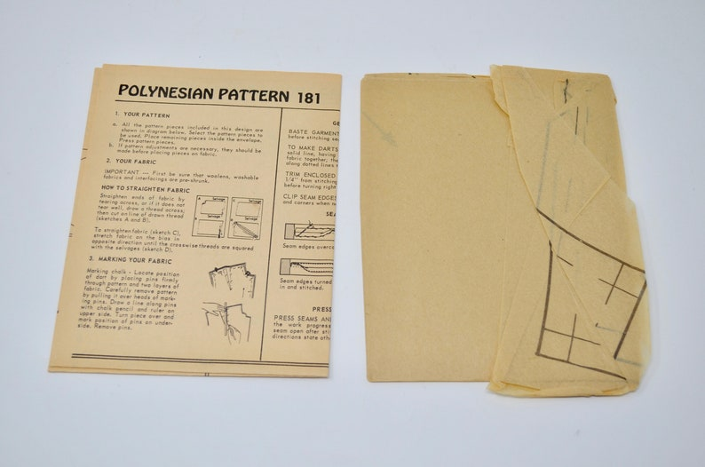 Polynesian Pattern 181 WIKIWIKE Maxi Sun Dress in Two Lengths Size XS UNCUT