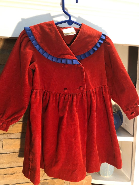Laura Ashley Mother and Child Corduroy Little Gir… - image 3