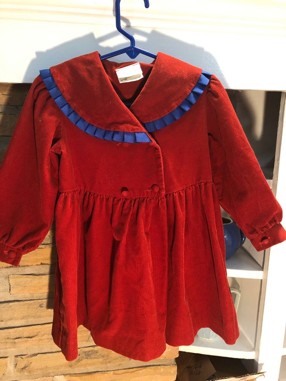 Laura Ashley Mother and Child Corduroy Little Gir… - image 1