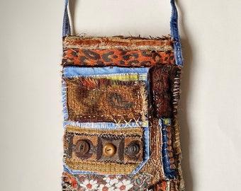 Artsy Crossbody Bag Boho Chic