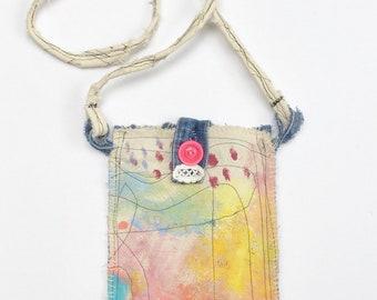 Painted Little Crossbody Bag