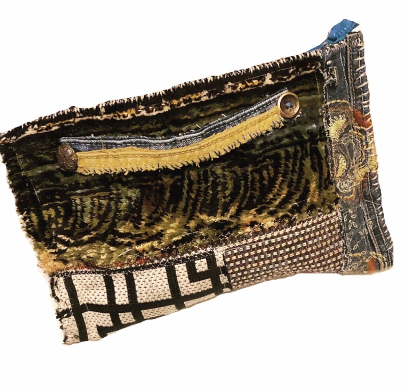 Handmade Artsy Clutch Bag image 0