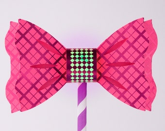 f0e332301717 Blinky Bow Ties Party Kit (Makes 10) - Make Bow Ties that lights up! A Tech-Craft  kit for STEAM