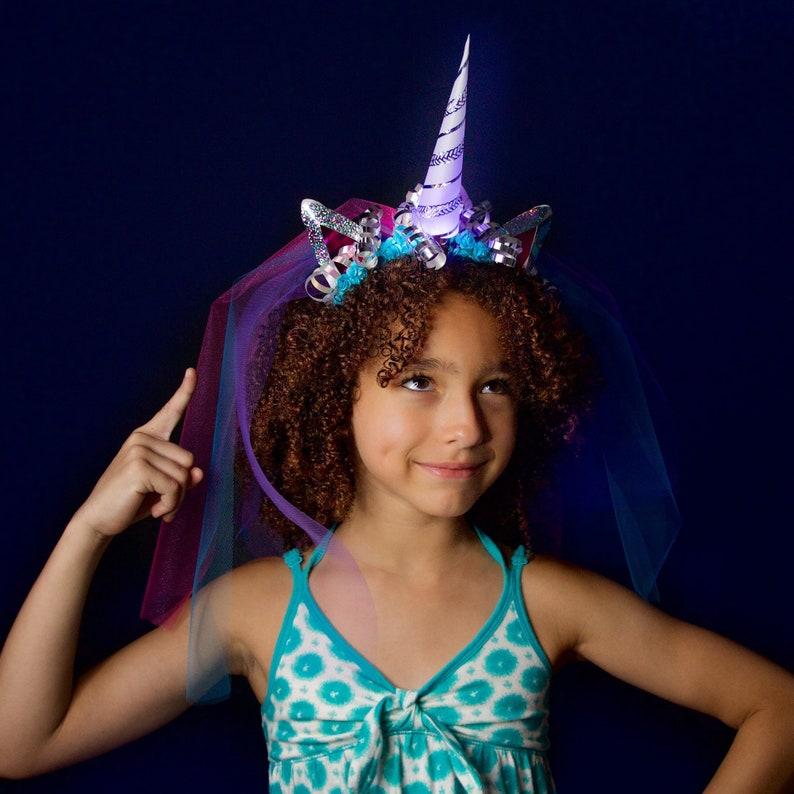 382691019b39 DIY Be a Unicorn Deluxe Light-Up Unicorn Headband