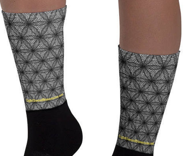 Socks - Fibonacci Flower of Life