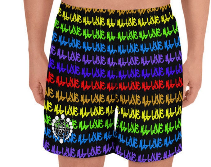 Men's Board Shorts - ALL LOVE 25