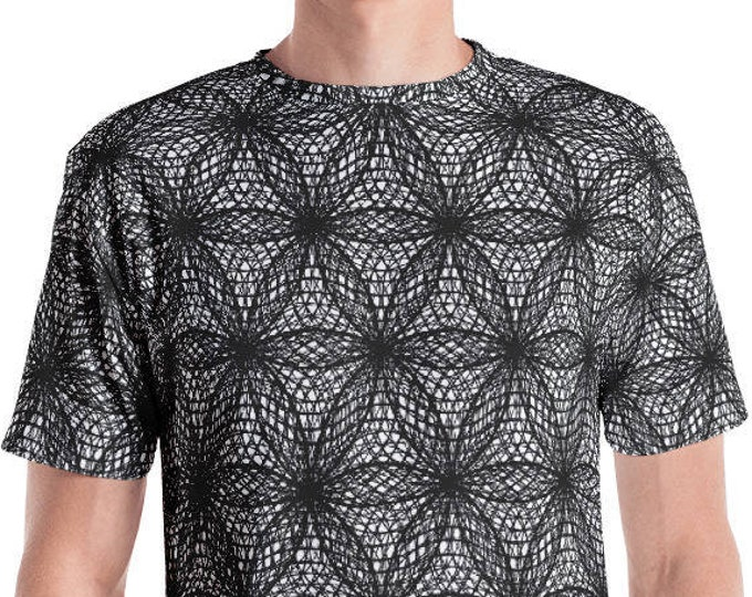 T-Shirt - Fibonacci Flower of Life