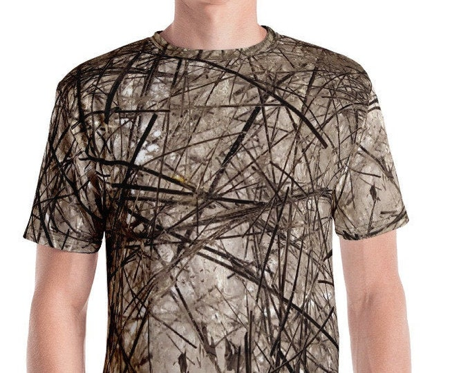 Men's T-Shirt - Tourmaline Quartz