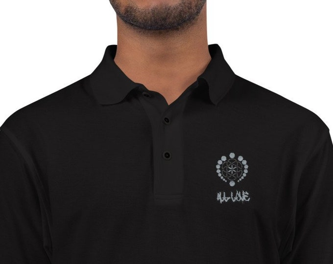 Men's Driving Polo - All Love Logo