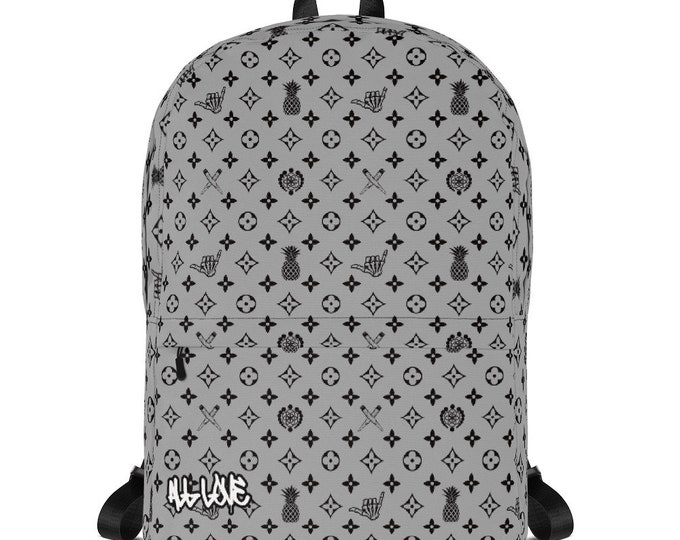 Backpack - La Vida Piña x LVSD (Black & Gray)