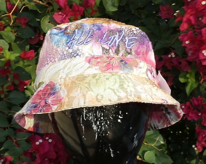 Bucket Hat - All Love (One-of-a-kind)