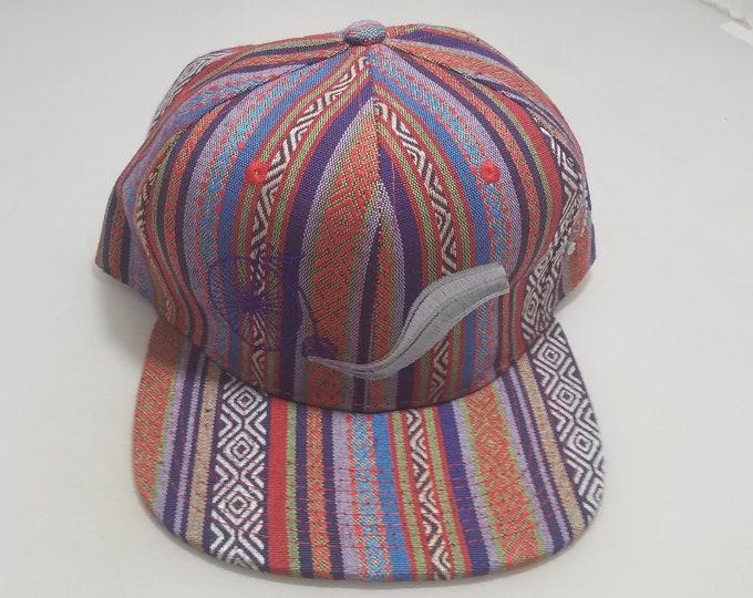 Snapback Flat-Brim Hat - Skuuurtt (One-of-a-kind)