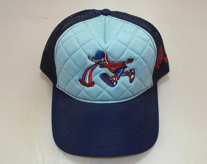 Snapback Bent-Brim Hat - Too Much Too Fast (One-of-a-kind)