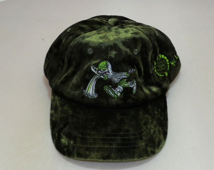 Strap-back Bent-Brim Hat - Too Much Too Fast (One-of-a-kind)