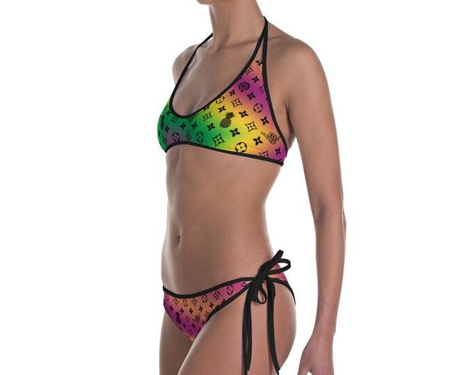 Women's Bikini - La Vida Piña x LVSD (Reversible)