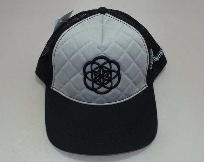 Snapback Bent-Brim Hat - Seed Of Creation (One-of-a-kind)