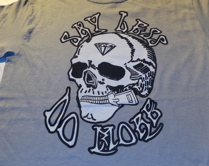 T-Shirt - Say Less Do More (on Ice Gray)