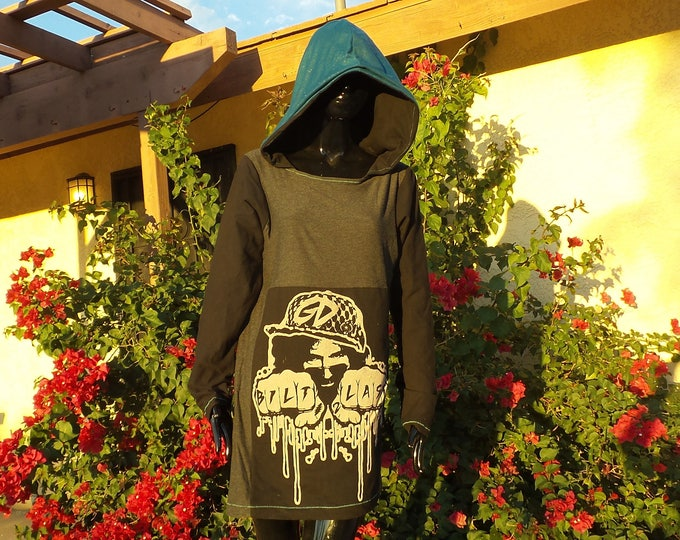 Women's Hooded Dress - One-of-a-kind OneOFaDiMON Collaboration