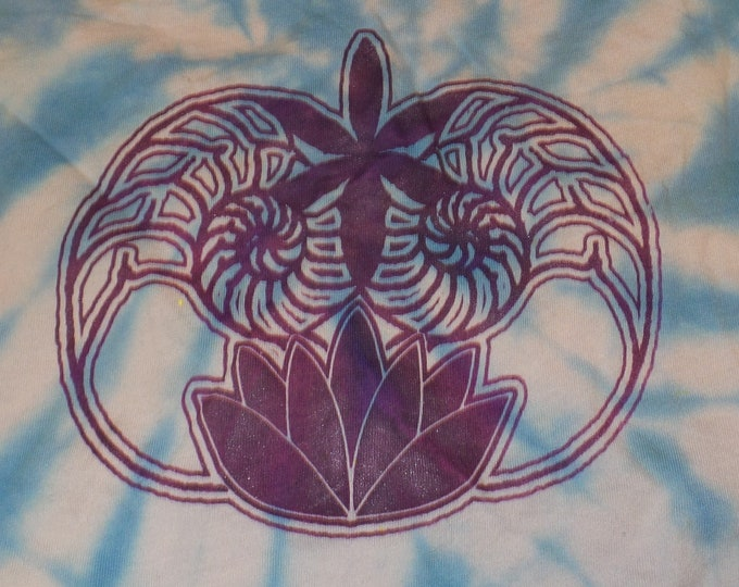 Women's Tank Top - Ammonite Lotus (Tie Dye)