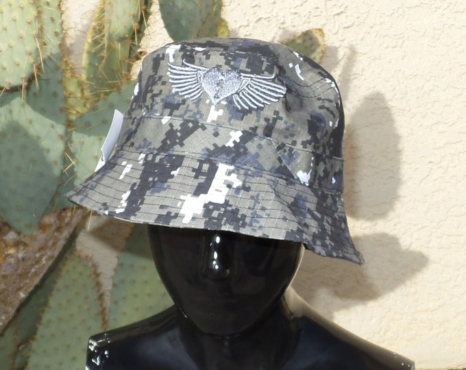 Bucket Hat - Heart Wings (One-of-a-kind)