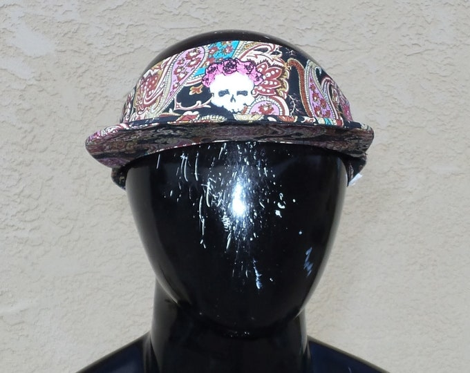 Snapback Flat-Brim Visor - 3D Bertha (One-of-a-kind)