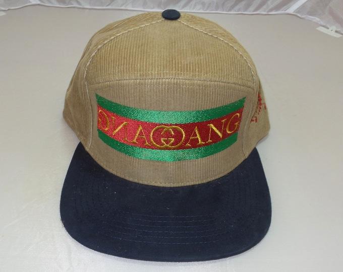 Snapback Flat-Brim Hat - Gang Gang (One-of-a-kind)