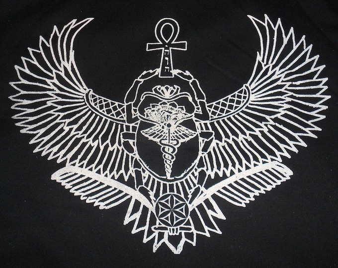 Made-To-Order Hoodie - Winged Scarab