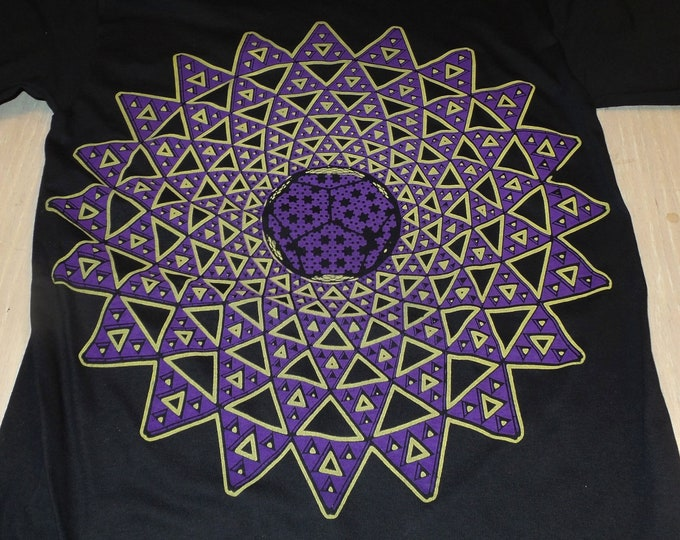 T-Shirt - Infinite Possibilities (Yellow/Purple on Black)