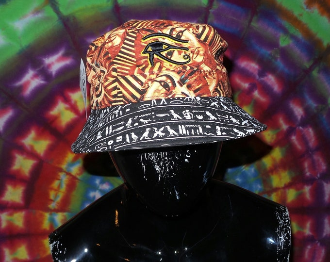 Bucket Hat - 3D Eye of Horus (One-of-a-kind)