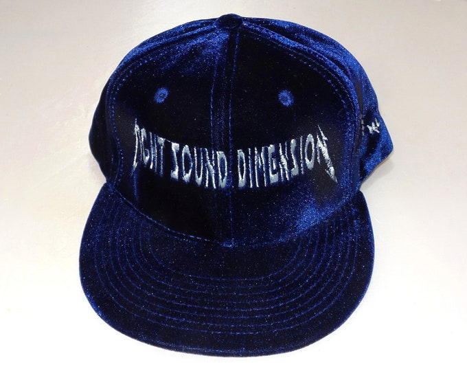 Snapback Flat-Brim Hat - Rock On Logo (One-of-a-kind)