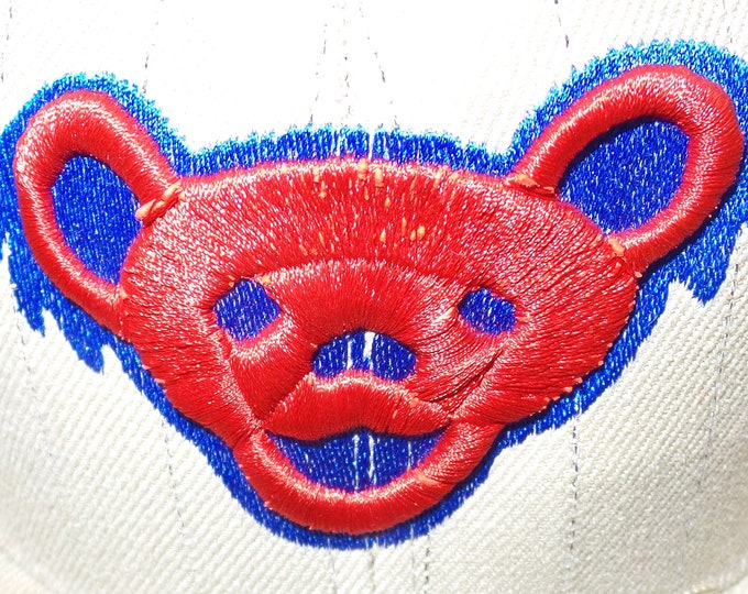 Fitted Flat-Brim Hat - Jerry Bear - Size 7 3/4
