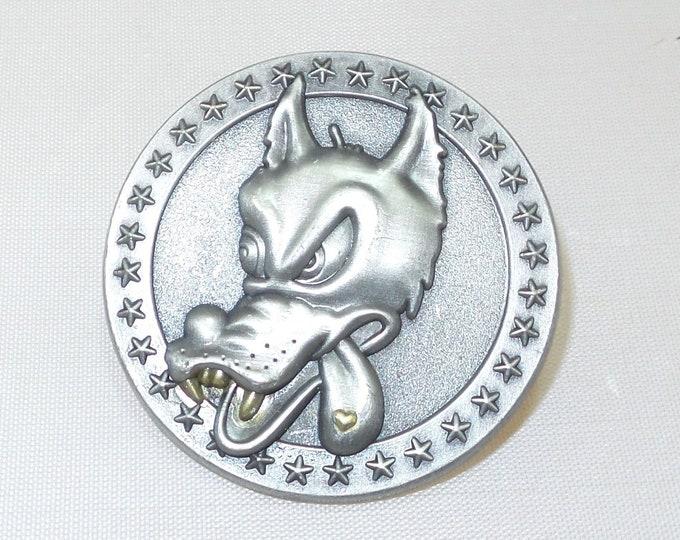 Pin - 3D Wolfie