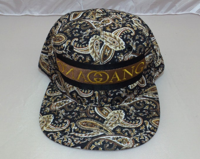Snapback Flat-Brim Hat - Gang Gang (One-of-a-kind)
