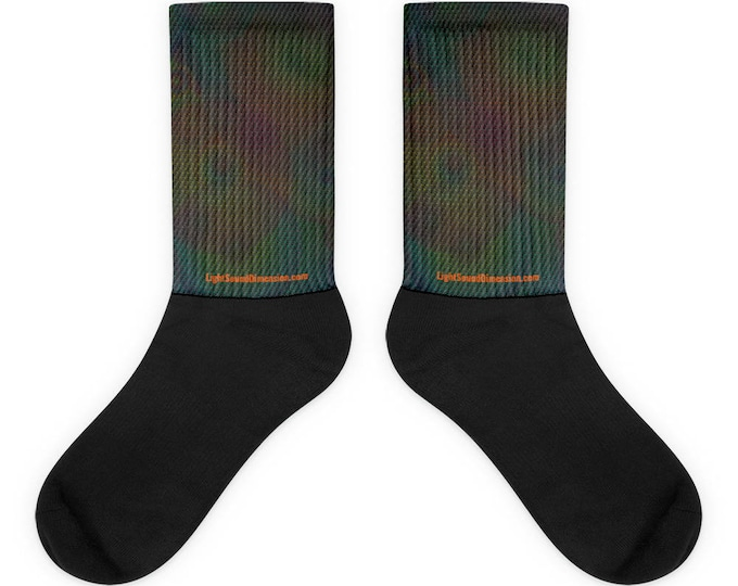 Socks - 3D Rainbow Flower of Life