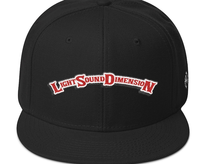 Snapback Flat-Brim Hat - Light Sound Dimension X Backwoods (Limited Edition)