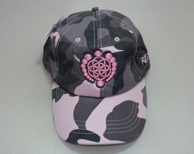 Strap-back Bent-Brim Hat - Logo (One-of-a-kind)