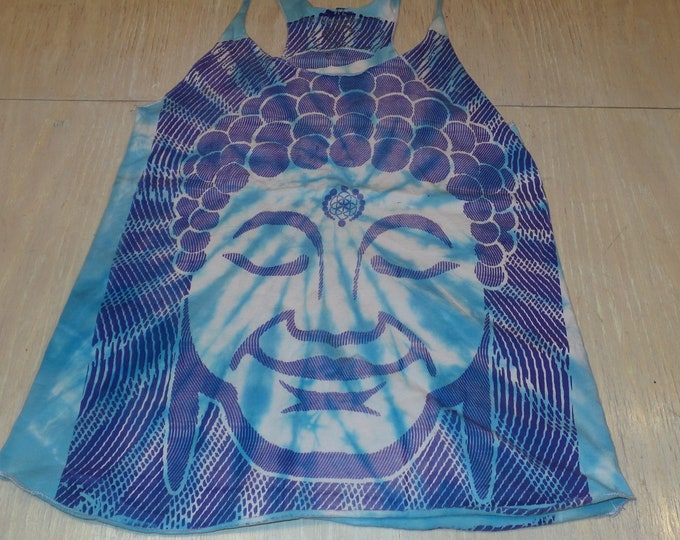 Women's Tank Top - Optical Buddha (Tie Dye)