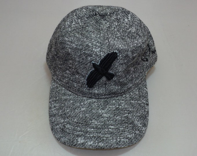 Strap-back Dad Hat - Fly Bird (One-of-a-kind)