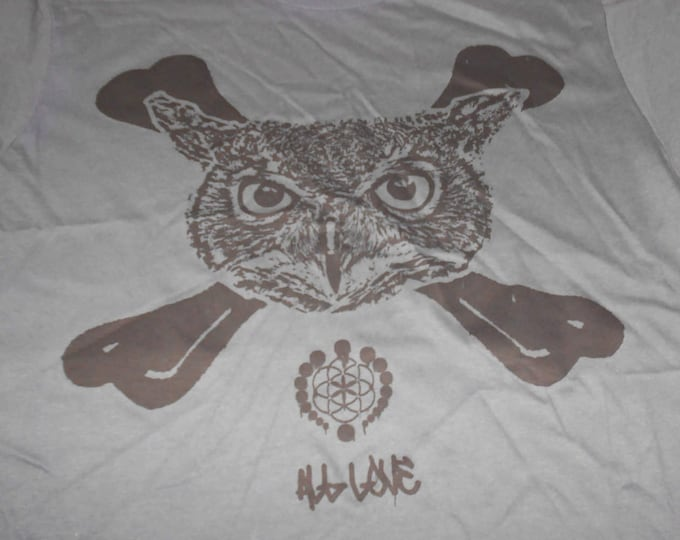 Made-To-Order Hoodie - Owl Crossbones