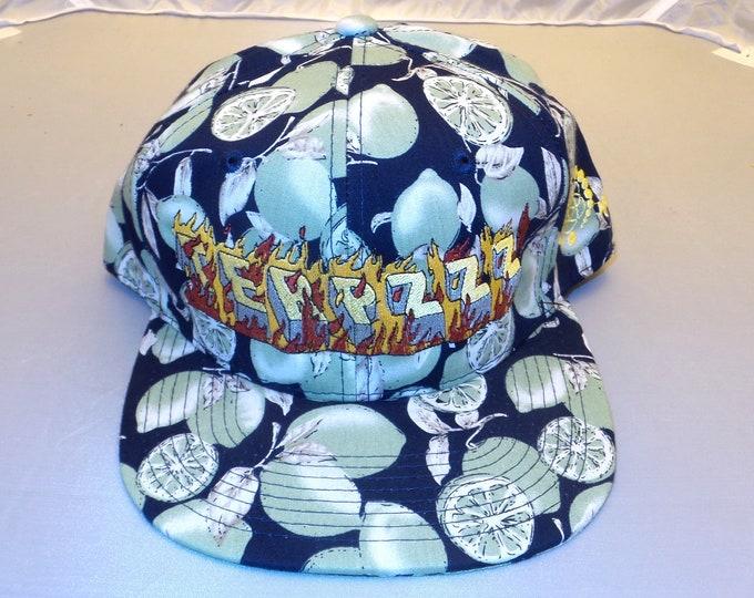 Snapback Flat-Brim Hat - Terpzzz (One-of-a-kind)