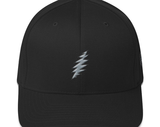 Flex-Fit Bent-Brim Hat - 13-Point Bolt