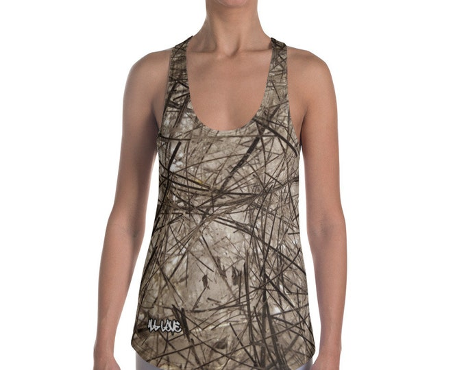 Women's Racerback Tank Top - Tourmaline Quartz