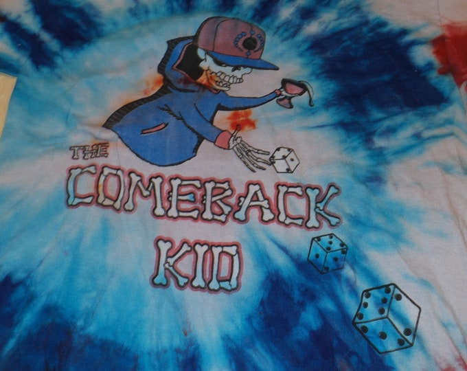 T-Shirt - The Comeback Kid (Tye Dye)