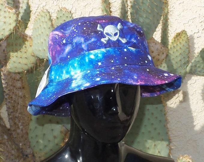 Bucket Hat - Alien Crossbones (One-of-a-kind)