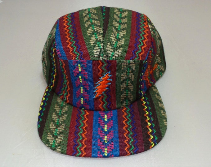 Strap-back Flat-Brim Hat - 13-Point Bolt (One-of-a-kind)